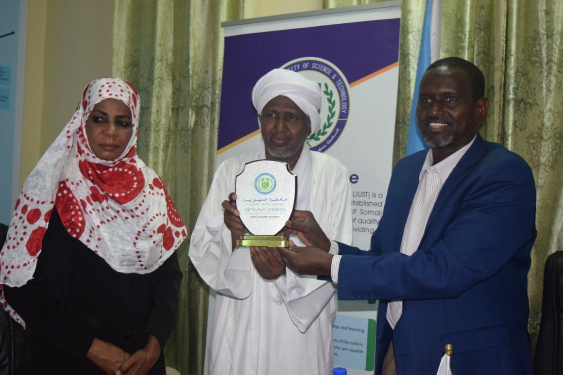 Delegates from Ministry of Higher Education and Scientific Research of Sudan visit JUST